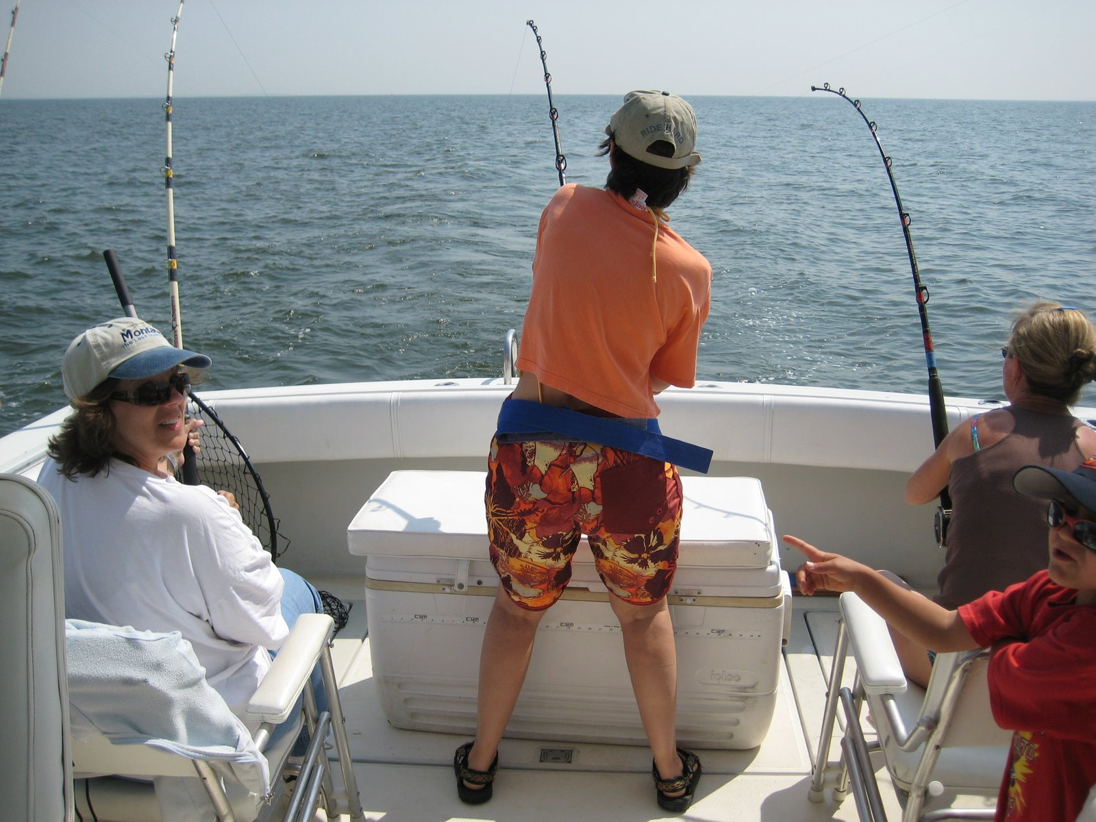 Chesapeake bay fishing report april 2008 for Upper chesapeake bay fishing report